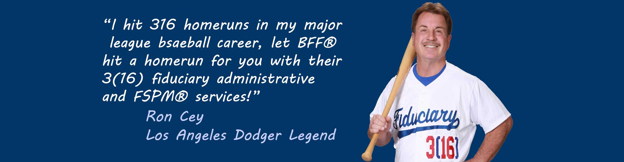 Ron Cey for BFF