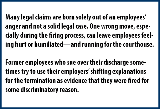 Resignations and Terminations